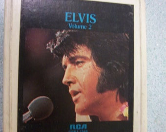 FREE Shipping ELVIS Presley 8 track stereo a legendary performer RCA cps1-1349 vintage music