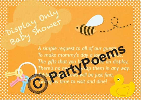 Boy Baby Shower Invitation Poems for awesome invitation design
