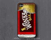 Wonka chocolate iPhone Case, iphone cover, iPhone 4 case, iPhone 4s case, iPhone 5 case, iPod touch 4 case, ipod touch 5 case - LittleVogue