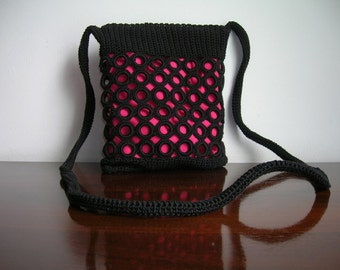 Black ringed bag