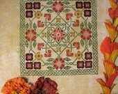 Celtic Garden PDF Chart by Northern Expressions Needlework