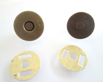 10 Sets 18mm anti brass Magnetic Fastener Magnetic Snaps Magnetic Button