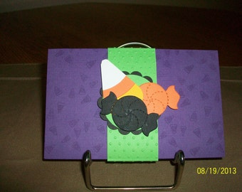 Halloween Candy Gift Card Holder