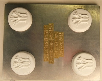 Tulip Sandwich Cookie Mold, AO272