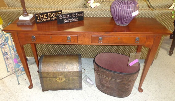 Bob timberlake sofa table in cherry 833965 by for Bob timberlake sectional sofa