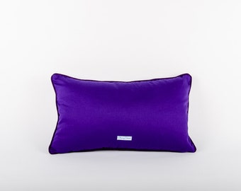 Purple Scatter Cushion Cover