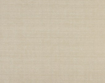 Coconut Beige Solid, Indoor And Outdoor Multipurpose And Upholstery Fabric By The Yard