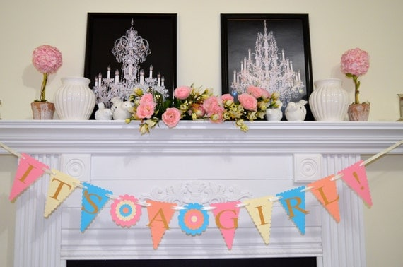 Welcome home baby decoration ideas the for Welcome home baby shower decorations
