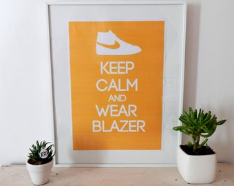 poster - Keep calm and wear Blazer