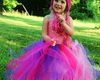 Flamingo Dress and Hat combo