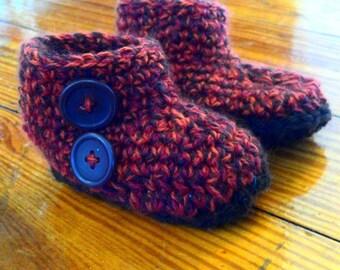 Tweed Booties