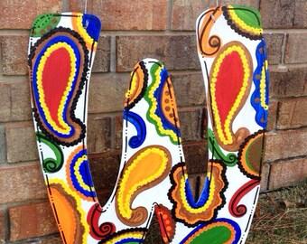 Hand Painted Letter Door Hangers
