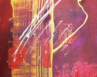 Original abstract painting #148
