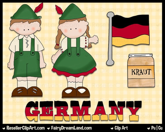 german kids clipart -#main
