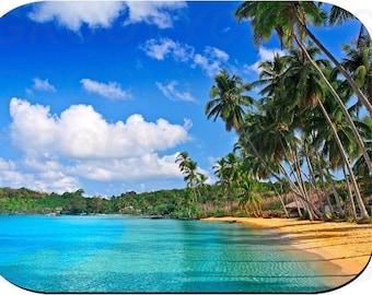 Mouse Pad Tropical Beach