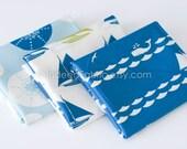 ORGANIC FQ Bundle, Set Sail, Jay-Cyn Designs, Certified Organic Fabric, 3 Fat Quarters