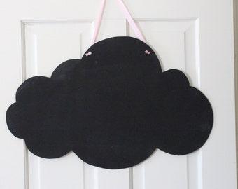 """Large Cloud Chalkboard 25""""x16"""""""