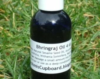 Bhringraj (Maka) Hair Oil - Mineral Oil Free/Castor Oil Base