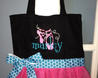 Ballet Slipper Dance Bag