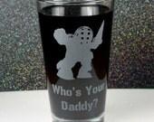 Bioshock Inspired Big Daddy Beer Pint Glass