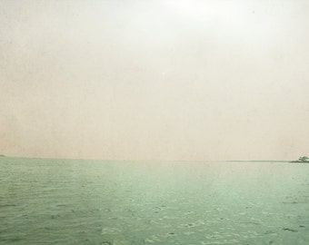 Mothya's Island from the boat. Sicily. photography, photo print