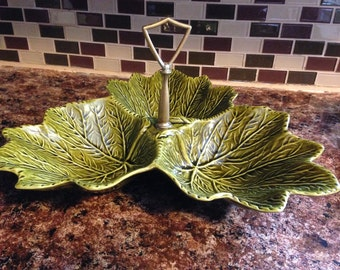 California Originals Pottery Mid Century Relish Tray Mold 723