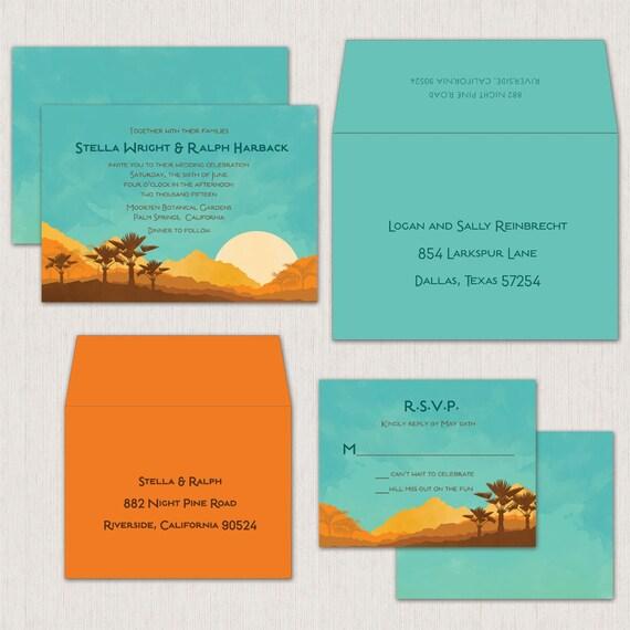 Items Similar To Palm Desert Turquoise And Orange