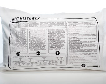 Art History Printed Pillowcase Studies