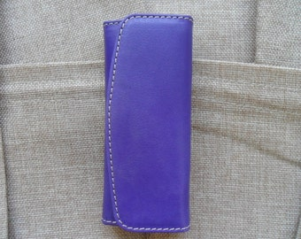 Classic Leather Keychain buffered Hand