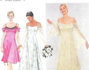 Simplicity 9125 Misses' Evening Gown Sewing Pattern, 6-12