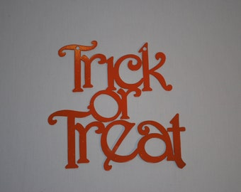 Halloween Trick or Treat Sign