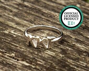 Kappa Kappa Gamma Classic Letter Ring | Sorority Ring | Kappa Kappa Gamma Ring | Kappa Ring | Kappa Kappa Gamma Jewelry | Sorority Jewelry