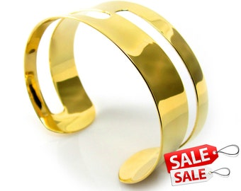 Wide Gold Cuff Bracelet Wide Gold Bracelet Cuff Wide Brass Cuff Bracelet Wide Brass Bracelet Cuff Wide Cuff Bracelet Wide Bracelet Cuff 092