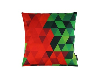 Pillow - spring 24 - geometric pattern