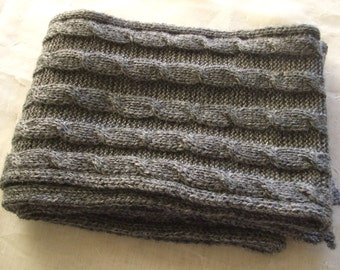 baby wool braids scarf