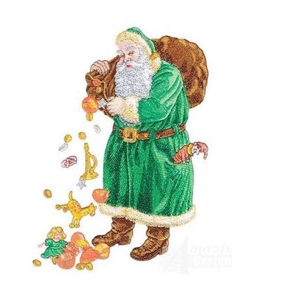 Santa Claus Christmas Embroidery Designs - PES