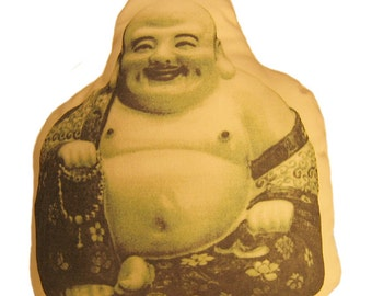 Laughing Buddha Pillow