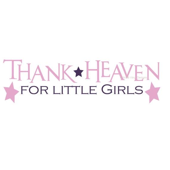 s Thank Heaven for Little Girls
