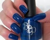 Cobalt Kiss- Blue Nail Polish