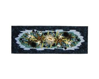 Wildfire Designs Alaska Tide Pool Table Runner Applique Quilt Pattern