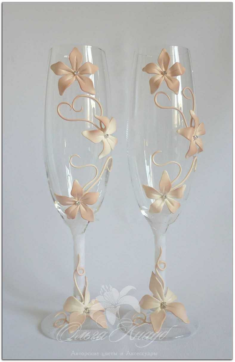 wedding glasses swarovski crystal champagne flutes by luxeflowerl