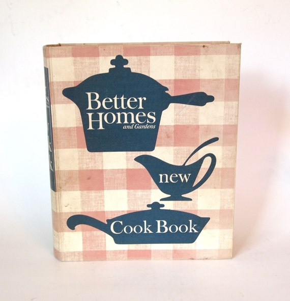 Vintage 1953 Better Homes And Gardens New Cookbook 5 Ring