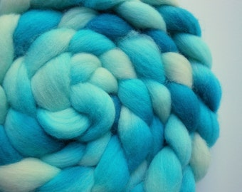 Hand Dyed 100% Domestic Wool Roving 3.5oz: Every Now and Again