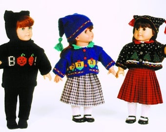 Holiday Wear for American Girl Dolls