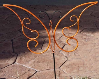 Garden art butterfly, large