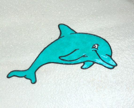 Startseite aufkleber dekor dolphin fenster zu von oneirichearts