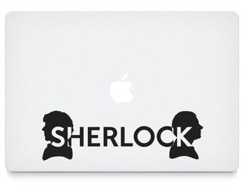 Sherlock Silhouette Vinyl Decal