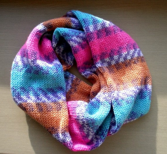 Innovations Knitting Machine Patterns : KNITTING PATTERN pdf, Prym or Innovations knitting machine fast infinity scar...