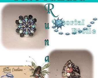 Pattern Runa ring (Italian/french)