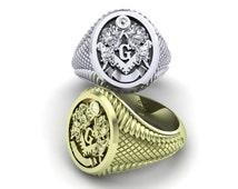 Masonic ring 10k gold